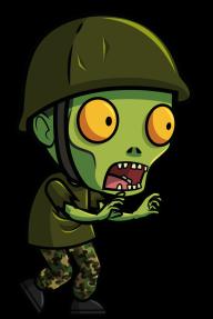 Zombie vert de Loom network